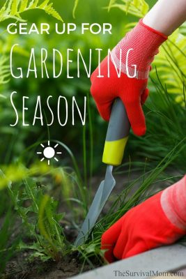 Gear up for gardening season