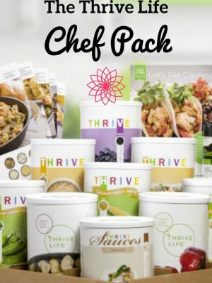 The Thrive Life Chef Pack — a Survival Mom review