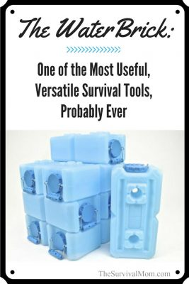 The WaterBrick: One of the Most Useful, Versatile Survival Tools, Probably Ever