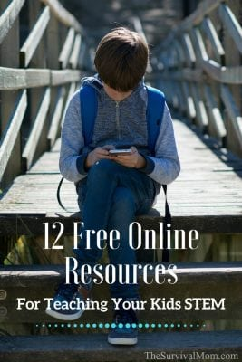 12 Free Online Resources For Teaching Your Kids STEM