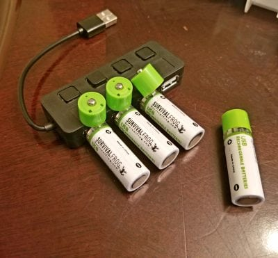 easypower batteries, USB rechargeable batteries