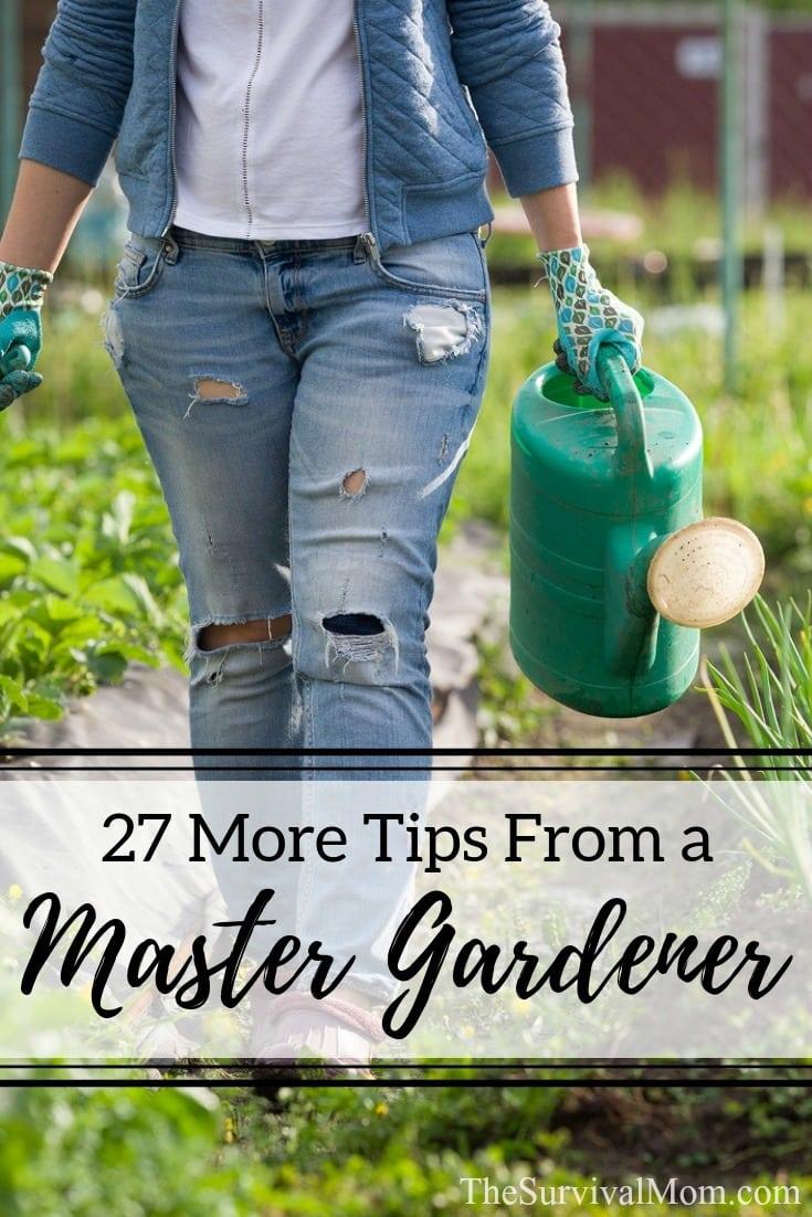 tips from a master gardener, gardening tips, master gardener tips