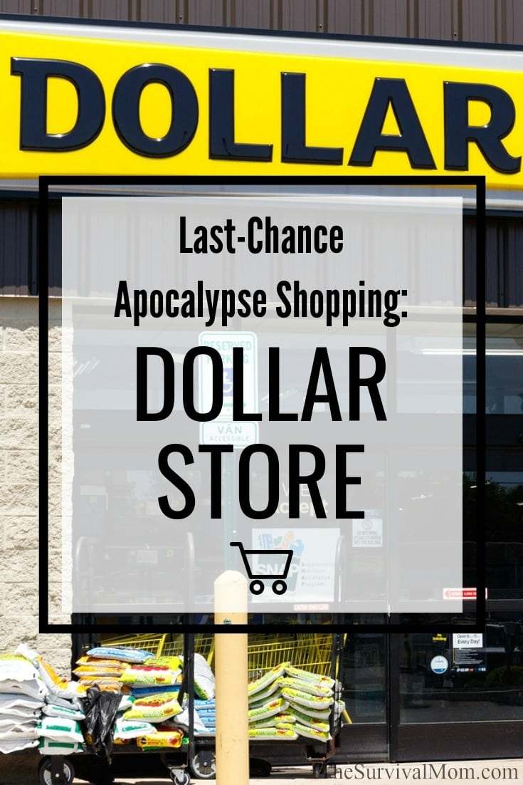 dollar store prepper deals, prepper dollar store