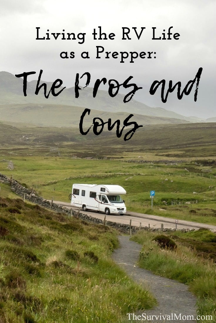 prepper rv living, rv lifestyle for preppers,