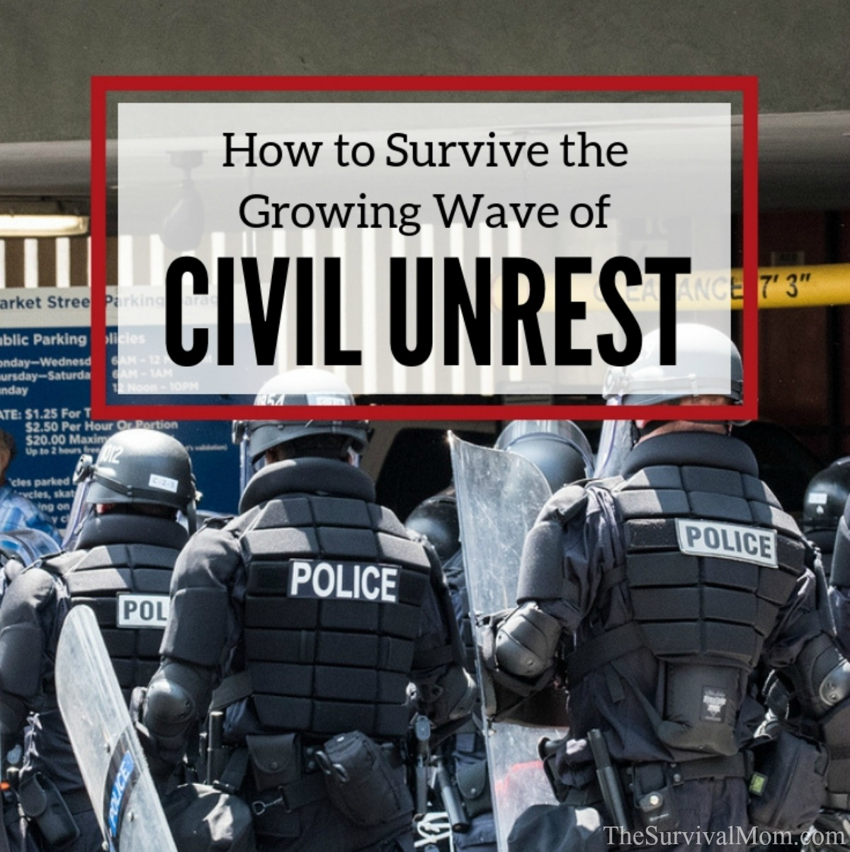 survive civil unrest, survive riots, survive mobs, civil unrest survival