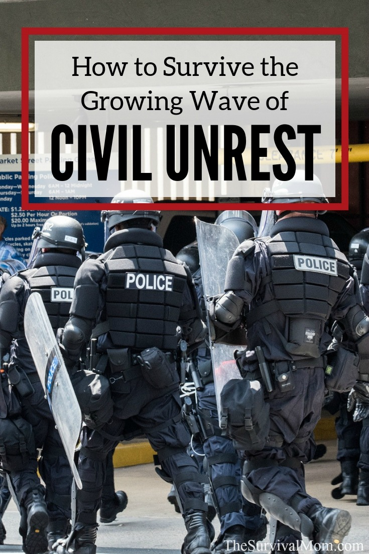 civil unrest, how to prepare for civil unrest