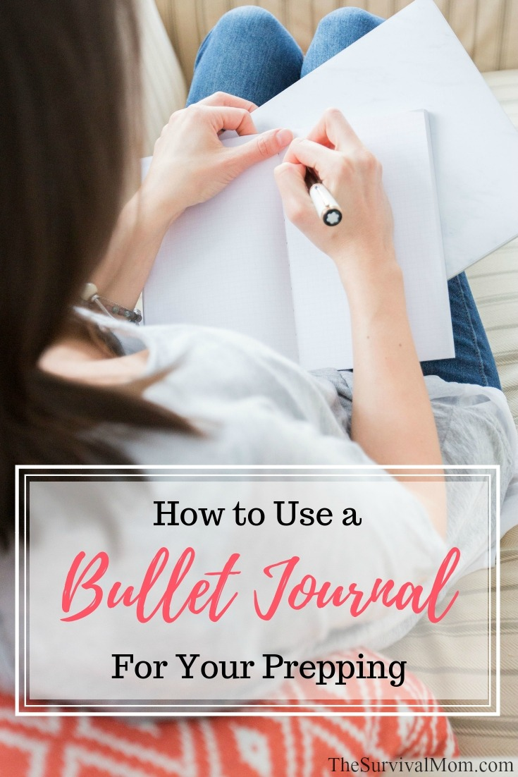 food storage journal, food storage app, bullet journal for food storage, food storage inventory, how to use bullet journal