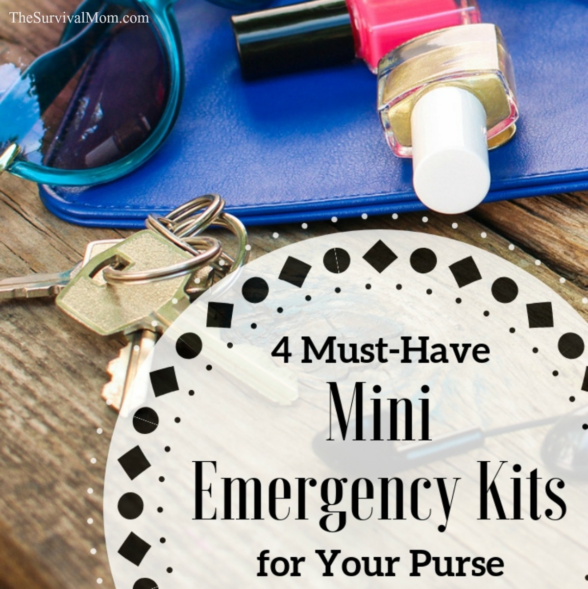 emergency kit, mini emergency kit, small emergency kit, medical kit, emergency kit for purse