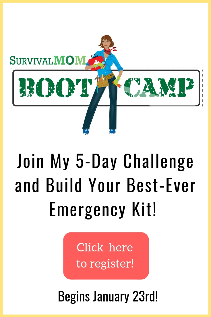 survival mom, survival mom boot camp, survival mom challenge, best emergency kit, best bug out bag, help with emergency kit