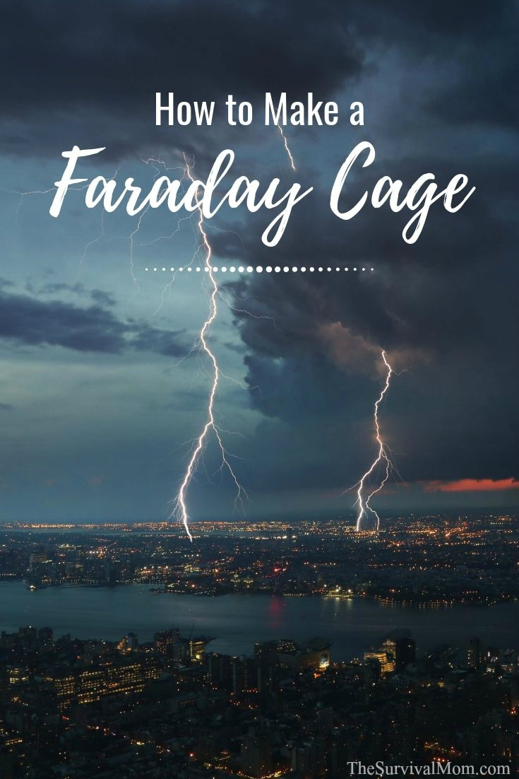 How to Make a Faraday Cage via The Survival Mom