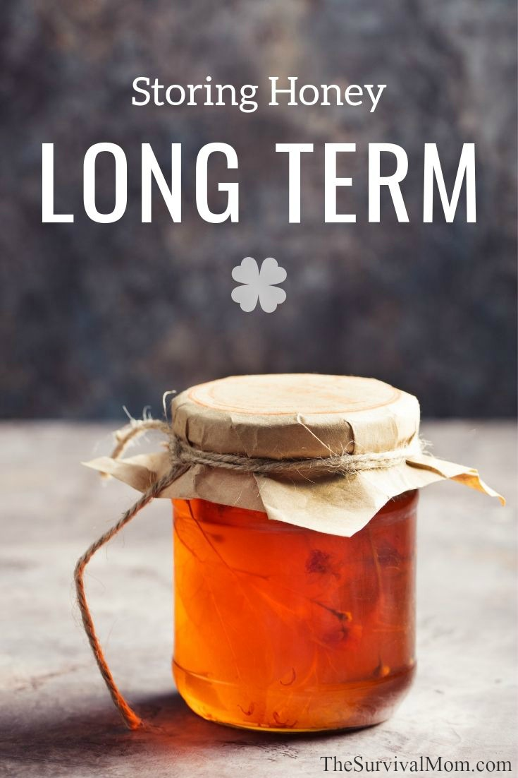 Storing Honey Long Term via The Survival Mom