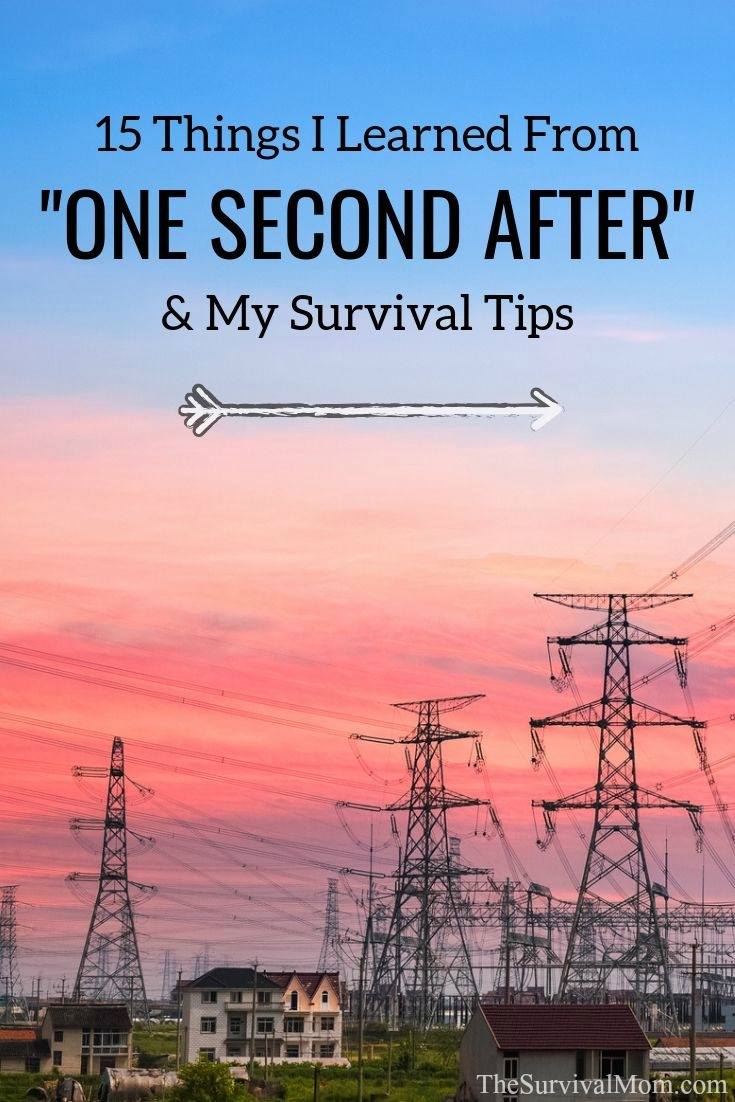 15 Things I Learned From One Second After & My Survival Tips, one second after, emp survival