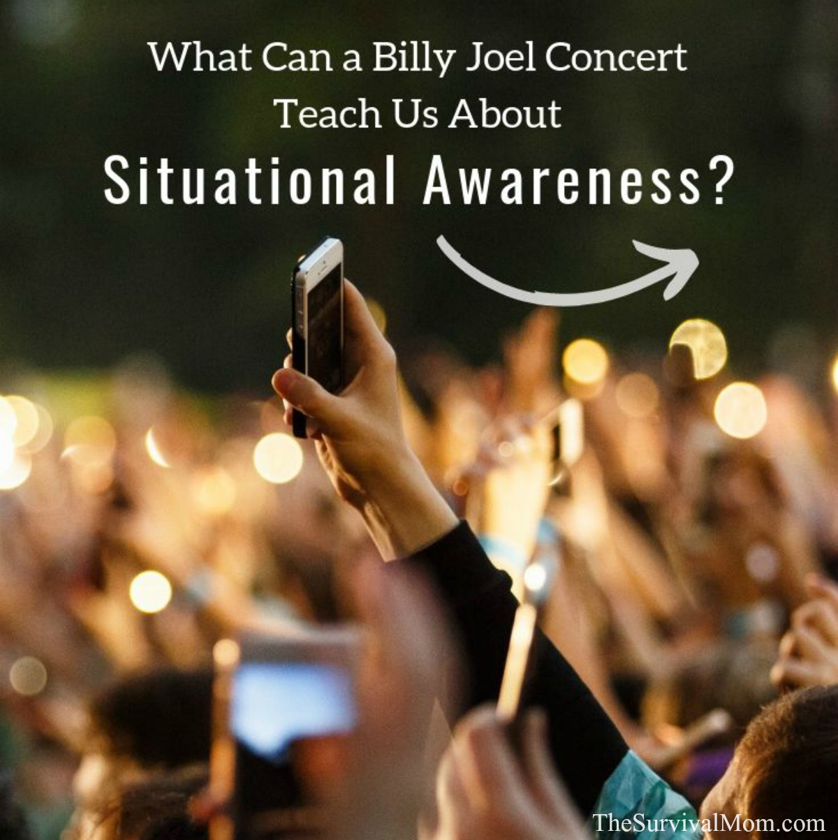 What Can a Billy Joel Concert Teach Us About Situational Awareness via The Survival Mom