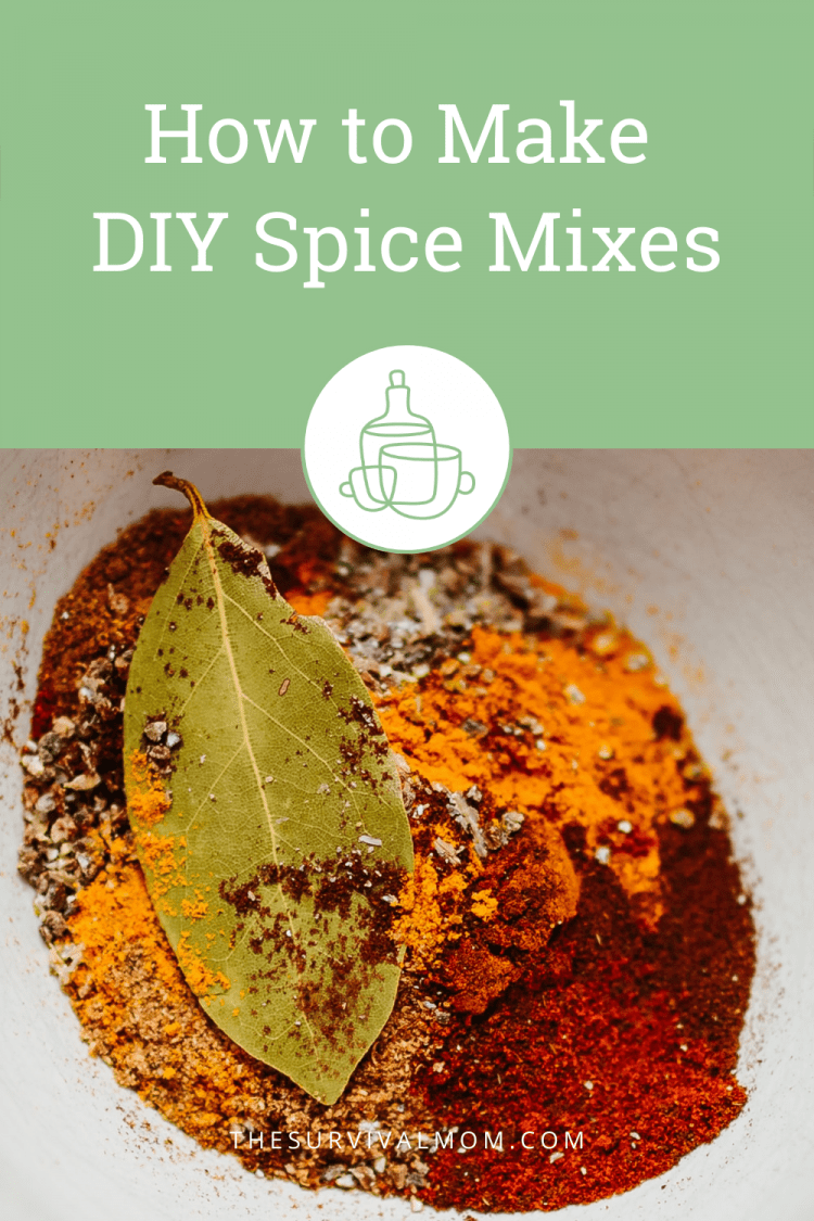 image: mixture of spices, spices in white bowl