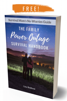 family power outage handbook, how to survive a power outage, family power outage tips