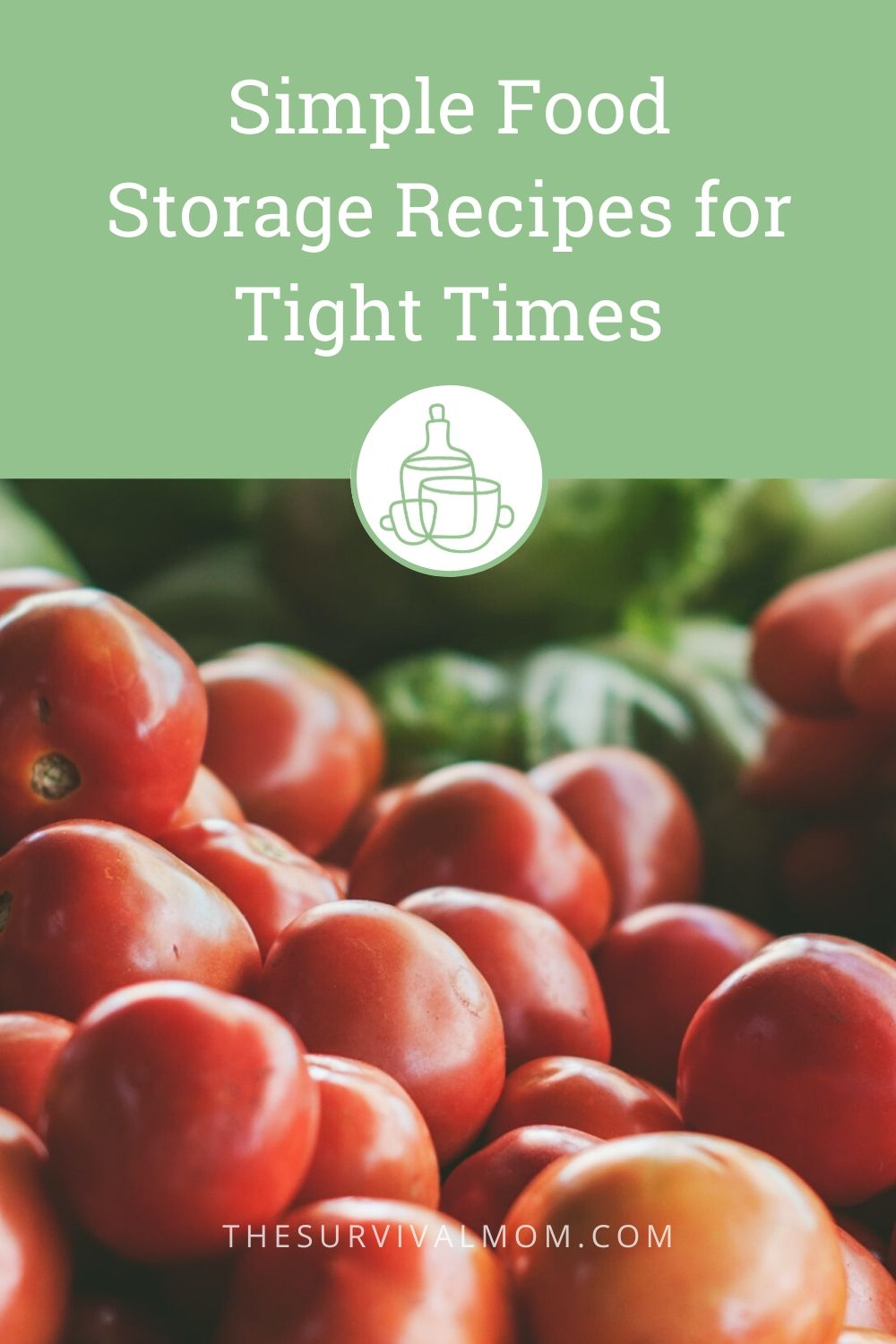 Simple Food Storage Recipes for Tight Times via The Survival Mom