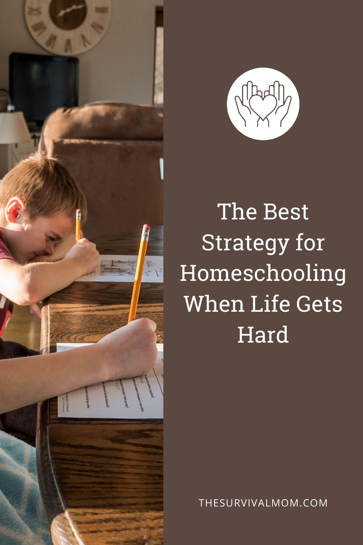 Image: kids homeschooling, homeschoolers, kids at desks, strategies for homeschooling